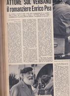 (pagine-pages)ENRICO PEA  Epoca1953/159r. - Books, Magazines, Comics