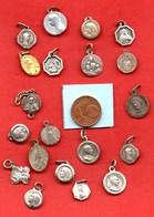 L6// Lot De 20 Médailles  / MEDAILLE RELIGIEUSE - Religion & Esotérisme
