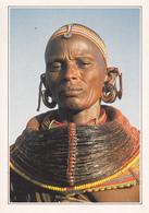 KENYA / FEMME SAMBURU EN COSTUME TRIBAL - Kenya
