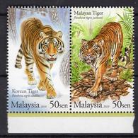 2010 - MALAYSIA  -  Mi. Nr. 1704/1705 - NH - (UP.207.23) - Malesia (1964-...)