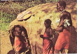 KENYA /  FAMILLE MASAI - Kenya