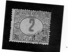 1915 Ungheria - Segnatasse - Postage Due