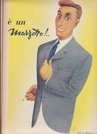 (pagine-pages)PUBBLICITA' MARZOTTO  Epoca1953/162r. - Altri