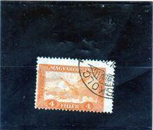 B - 1930 Ungheria - Turul - Ungheria