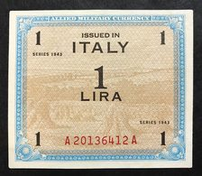 1 Am Lire 1943 Italiano Bep Sup  LOTTO 2192 - [ 3] Military Issues