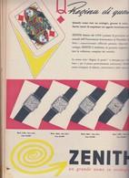 (pagine-pages)PUBBLICITA' ZENITH  Epoca1953/163r. - Books, Magazines, Comics