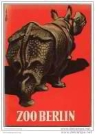 Wegweiser Durch Den Zoologischen Garten Berlin 1961 - Bearbeitet Vom Wissenschaftlichen Direktor Dr. Heinz Georg Klös - Berlin