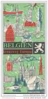 Belgien - Kreuzweg Europas - 36 Seiten Wissenswertes über Belgien 60er Jahre - Belgien & Luxemburg