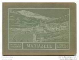 Mariazell 1913 - Herausgegeben Von Der Sektion Für Fremden-Verkehr Der Markt-Gemeinde Mariazell - 48 Seiten - Oesterreich