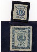 B - 1920/21 Ungheria Ovest - Pronay (nuovi Senza Gomma) - Local Post Stamps