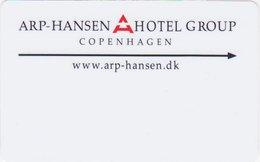 DANIMARCA KEY HOTEL Arp-Hansen Hotel Group Copenhagen - Hotel Keycards