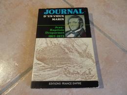 Journal D'un Vieux Marin - Jean-Baptiste Desparmet 1817-1873 - Histoire