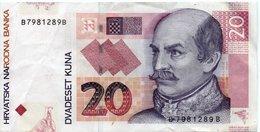 20 Kuna 2012 (recto) - Croatie