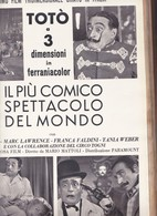 (pagine-pages)TOTO'  Epoca1953/164r. - Books, Magazines, Comics