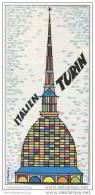 Turin 60er Jahre - Faltblatt Mit 22 Abbildungen - Italy