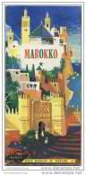 Marokko 50er Jahre - 11 Reise-Routen Beschreibungen Auf 50 Seiten - Afrika