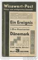 Wisawert-Post April 1934 - 1. Jahrgang Heft 3 - Herausgeber. Dr. Otto Hindrichs Münster - Zeitschriften