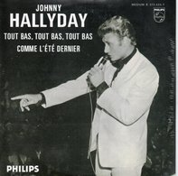 Single De Johnny Hallyday 1962 Tout Bas,tout Bas,tout Bas - Musik & Instrumente
