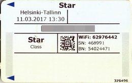 ESTONIA KEY CABIN          M/S Star (Ship)     Tallink (Shipping Company) - Hotel Keycards