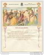 Royaume De Belgique - Koninkrijk Belgie - Telegramm - Telegram 50er Jahre - Mitteilung