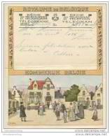Royaume De Belgique - Koninkrijk Belgie - Telegramm - Telegram 50er Jahre - Unclassified