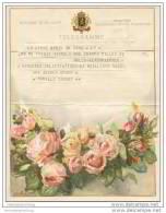 Royaume De Belgique - Koninkrijk Belgie - Telegramm - Telegram 50er Jahre - Announcements