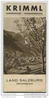 Krimml 30er Jahre - Faltblatt Mit 20 Abbildungen - Oesterreich