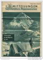 Mitteilungen Des Deutschen Alpenvereins - Sonderausgabe Für Alle Mitglieder Dezember 1955 - 16 Seiten DinA4 Format - Hobbies & Collections