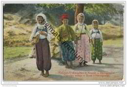 Bosnien-Herzegowina - Bosne I Hercegovine - National-Volkstrachten - Bosnia And Herzegovina