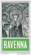 Ravenna 1956 - Faltblatt - Stadtplan - Italy