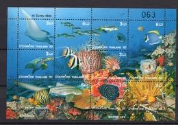 2001 - THAINLAND -  Mi. Nr. 2061/2069 - NH - (UP121.1) - Tailandia