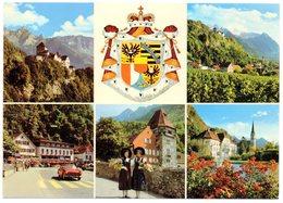 VADUZ Auto Photo P. Ospelt Schaan Briefmarken-Ausstellung 1972 - Liechtenstein