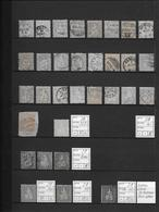 1862 - 1881 SITZENDE HELVETIA Gezähnt → Grosse Sammlung Auf 14 Albumseiten ►RRR◄ - Schweiz