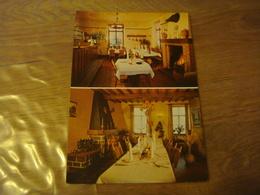 Vieille Carte Publiciataire Pour L'hôtel Restaurant Le Clos Normand MACQUENOISE ( Momignies ) Route Hirson - Momignies
