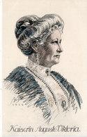 Kaiserin Auguste Viktoria  - Illustration De BI-KO (1914)  ..  (108536) - Familles Royales