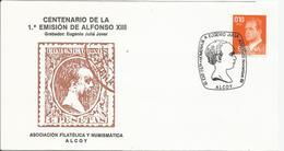 España. 1989. Homenaje A Eugenio Juliá. Alcoy. - Poststempel - Freistempel