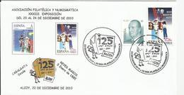 España. 2010. Cabalgata De Reyes. Alcoy. - Marcofilie - EMA (Print Machine)