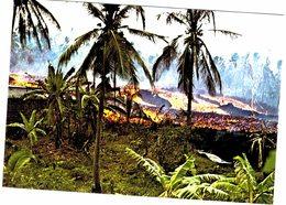 Afrique - Comores - Coulée De Lave à Singani - Grande Comore 1977 - Comores