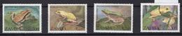 1989 - ZAMBIA -  Mi. Nr. 470/473 - NH - (UP121.2) - Zambia (1965-...)