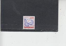 JUGOSLAVIA  1989 - Unificato  2216° - La Posta - 1945-1992 Repubblica Socialista Federale Di Jugoslavia