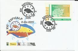 España. 2011. XVI. Exficalp. - Poststempel - Freistempel