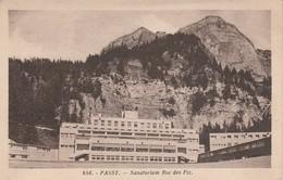 Haute-savoie : PASSY : Sanatorium Roc Des Fiz - Passy