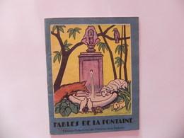 Livret 8 Fables De La Fontaine  éditions Enfantine Filatures De La Redoute Illustrée Loup Agneau Pigeon Tortue Lapin - Publicités