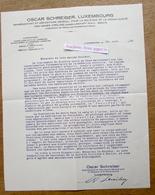 Oscar Schreiber, Repprésentant Des Usines Virline (produits Farmaceutiques), Avenue Du Bois, Luxembourg 1930 - Luxembourg