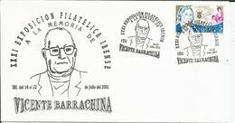 España. 2001. XXXI Exposición Filatélica Ibense. - Marcofilia - EMA ( Maquina De Huellas A Franquear)