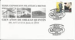 España. 2010. XXXIX Exposición Filatélica Ibense. - Marcofilia - EMA ( Maquina De Huellas A Franquear)