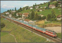 Schweizerischen Bundesbahnen Elektro-Schnellzuglokomotive Re 4/4 II - Reiju AK - Trains