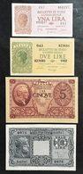 1-2-5-10 Lire LUOGOTENENZA BUONA QUALITA' Q.fds/fds  LOTTO 2204 - [ 1] …-1946 : Kingdom