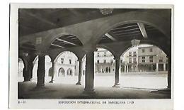 EXPOSICION INTERNACIONAL DE BARDELONA 1929 Pueblo Espagnol Interior De Los Sangüesa - Exposiciones