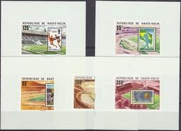Soccer Football Haute Volta Upper Volta Luxes 700/4 1978 World Cup Argentina MNH ** - Coupe Du Monde